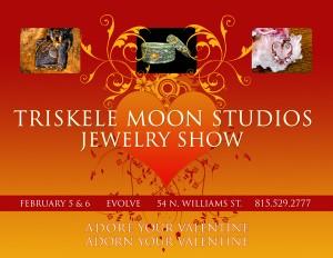 Triskele Moon Studios V-Day Poster