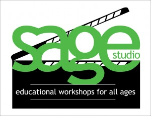 Final treatment of Sage Studio logo